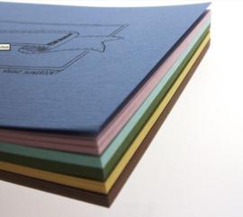 A6 Oefenblok Handlettering - Pastelkleuren