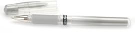 Gelpen Zilver - Uni-Ball roller Signo Broad zilver - 1mm