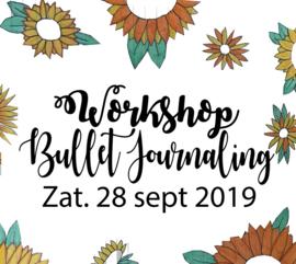 Workshop Bullet Journaling - Zaterdag 28 september 2019