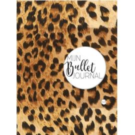 Bullet Journal / Art Journal boekje - Mijn Bullet Journal Luipaard print dotted
