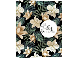 Bullet Journal / Art Journal boekje - Mijn Bullet Journal Black Flower