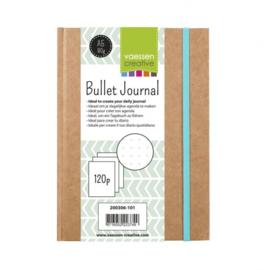 Art Journal / Bullet Journal boekje - Kraft A5 Dodded 80 vel 120 grs