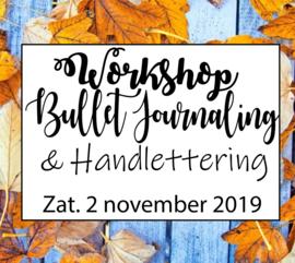 Workshop Bullet Journaling & Handlettering - Zaterdag 2 november 2019