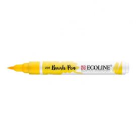 Brush pen Ecoline Lichtgeel (201) - 1 stuk