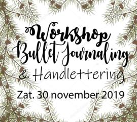 Workshop Bullet Journaling & Handlettering - Zaterdag 30 november 2019