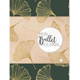 Bullet Journal / Art Journal boekje - Mijn Bullet Journal Ginkgo Biloba dotted