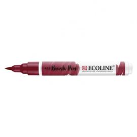 Brush pen Ecoline Roodbruin (422) - 1 stuk