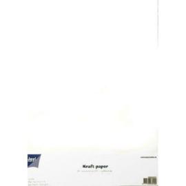 Karton wit kraft 300 gram A4 formaat Joy!Crafts - 20 Vellen