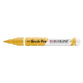 Brush pen Ecoline Okergeel (227) - 1 stuk