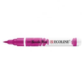 Brush pen Ecoline Paars Rood Violet (545) - 1 stuk