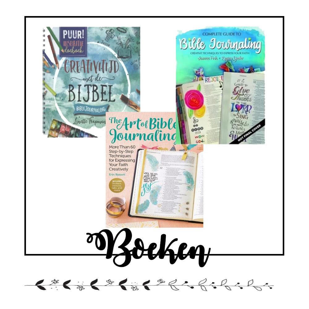 Boeken voor Bible Journaling kopen? Klik hier!
