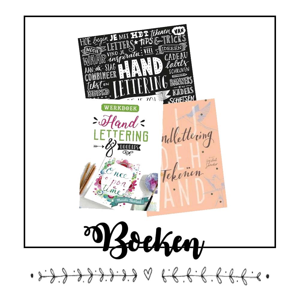 Handlettering boeken kopen? Klik hier!