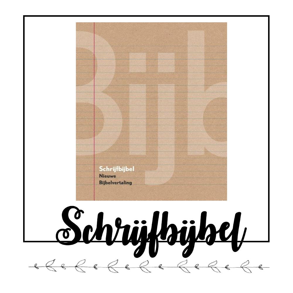 Schrijfbijbel Bible Journaling kopen? Klik hier!