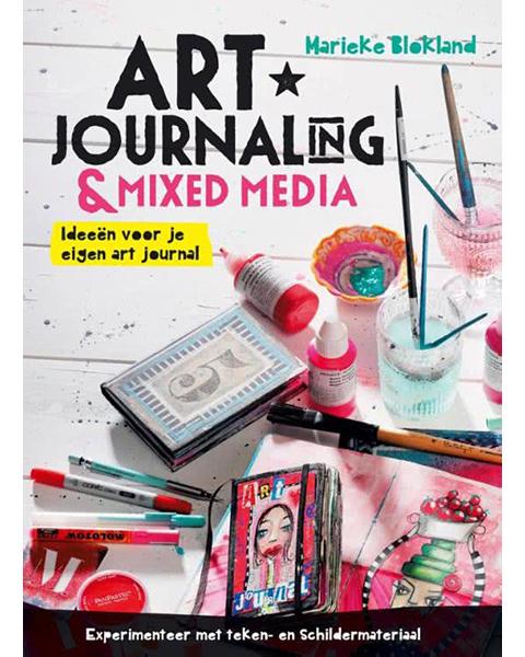 Art Journaling Boeken, uitleg tips en trucs