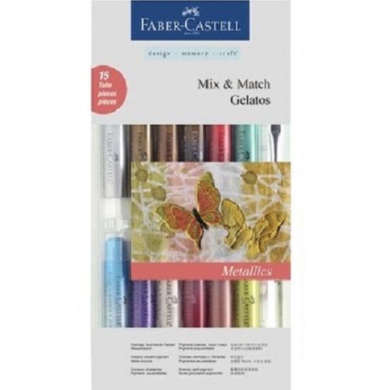 Faber Castell Gelatos Mix en Match Metallic kleuren.jpg
