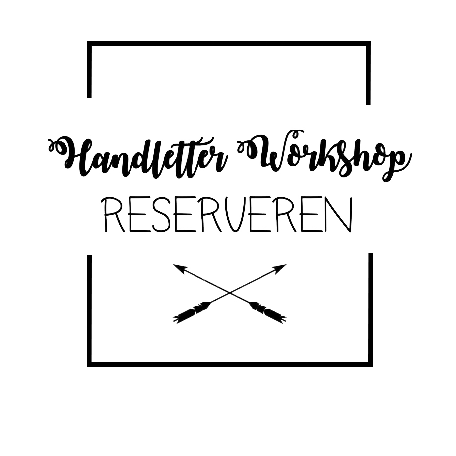 Handlettering Workshop reserveren? Klik hier!