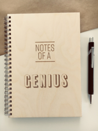 Notes of a genius - large
