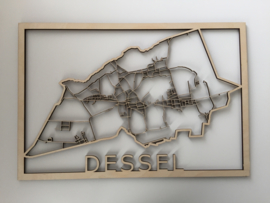 Stratenplan Dessel hout