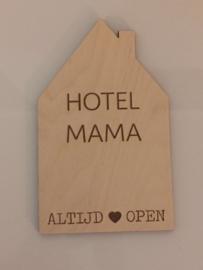 Huisje hotel mama klein