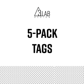 5-pack tags