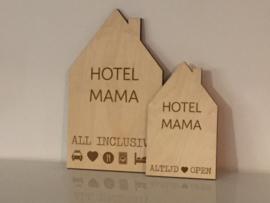 Huisje hotel mama groot