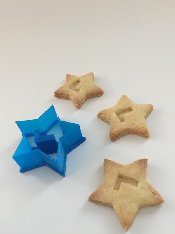 Kleine cookie cutter
