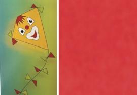 Folia Vliegerpapier rood 70x100cm 88120-20