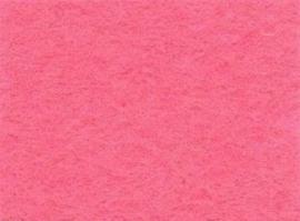 Viltlapje viscose roze   20x30cm - 1mm 1 vel