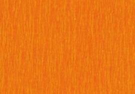 1 Pak Crepepapier fel oranje 250X50CM