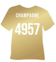 4957   Poli-Flex Turbo Champagne
