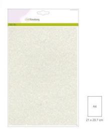 1 vel champagne Glitterpapier  29x21cm 120gr