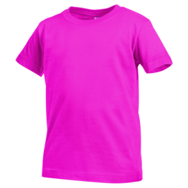 Classic-T Crew Neck Kids Maat XL ( 158/164) Sweet Pink