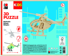 KIDS 3D puzzle helikopter 3+
