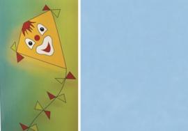 Folia Vliegerpapier lichtblauw 70x100cm 88120-30
