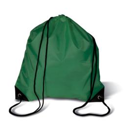 Rugzakje met koord Donker Groen