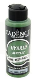 Cadence Hybride acrylverf (semi mat) Bladgroen 01 001 0051 0120 120 ml