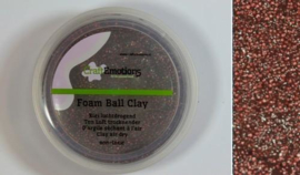 CraftEmotions Foamball clay - luchtdrogende klei - caramel 15gr