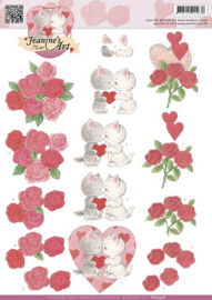 knipvel Jeanines Art - Valentijn