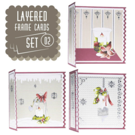 Layered Frame Cards SET 02