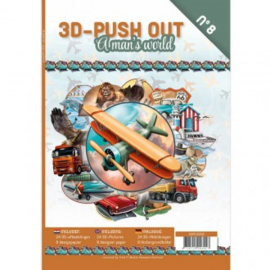 3 D  push out a Mans world no 8