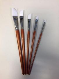 Penselenset nylon (5x schuin) 5 ST 12185-8350