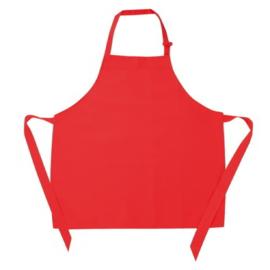 Kinder Keukenshort Rood