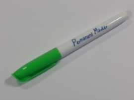Collall Krimpie Permanent marker - licht groen COLPTS21