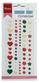 Enamel dots - Christmas PL4509