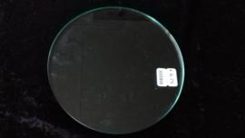 Glasplaatje rond 18 cm