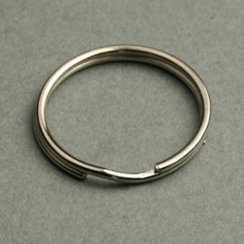 Sleutelringen 15 mm   10 stuks