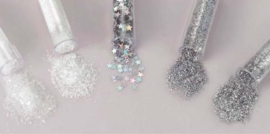 Glitterset assorti Snow White 1,8 GR 5 ST