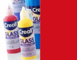 Creall Glass - glasstickerverf donker rood 1 FL - 80 ML 20518