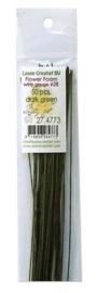 Bloemendraad D.Groen 50 st 36cm