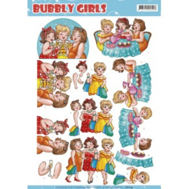 Knipvel Bubbly Girls CD11145